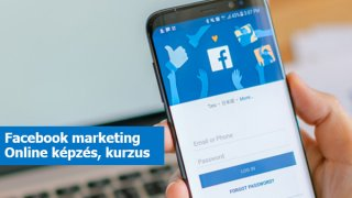 Facebook marketing online képzés